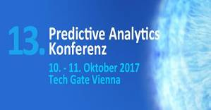 13. Predictive Analytics Konferenz 2017 in Wien